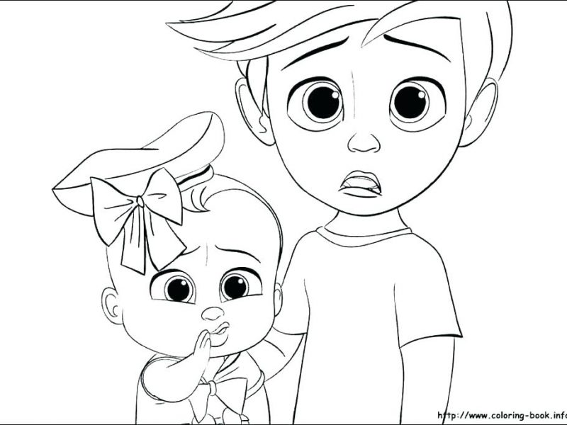 800x600 Unique Design Boss Baby Coloring Pages New Baby Coloring Pages