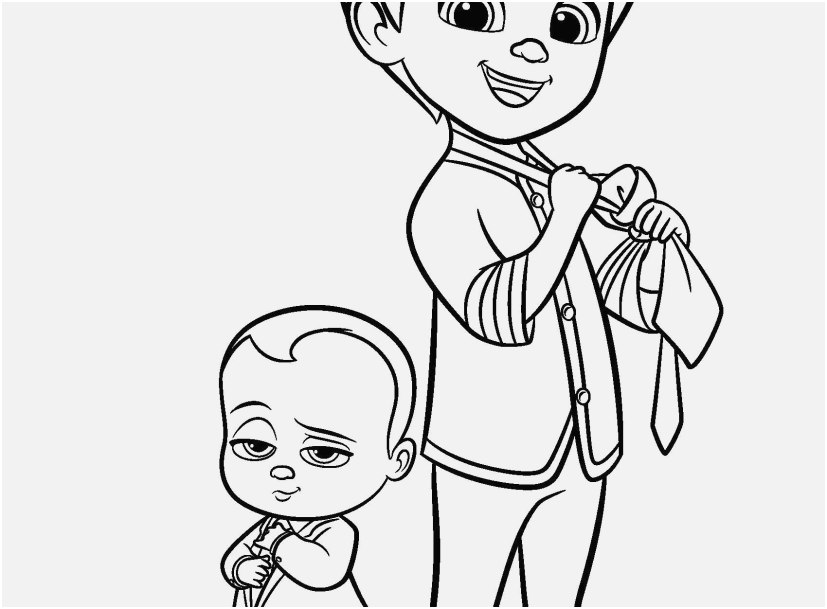 827x609 Baby Coloring Sheets Image Boss Baby Coloring Pages Coloring Page