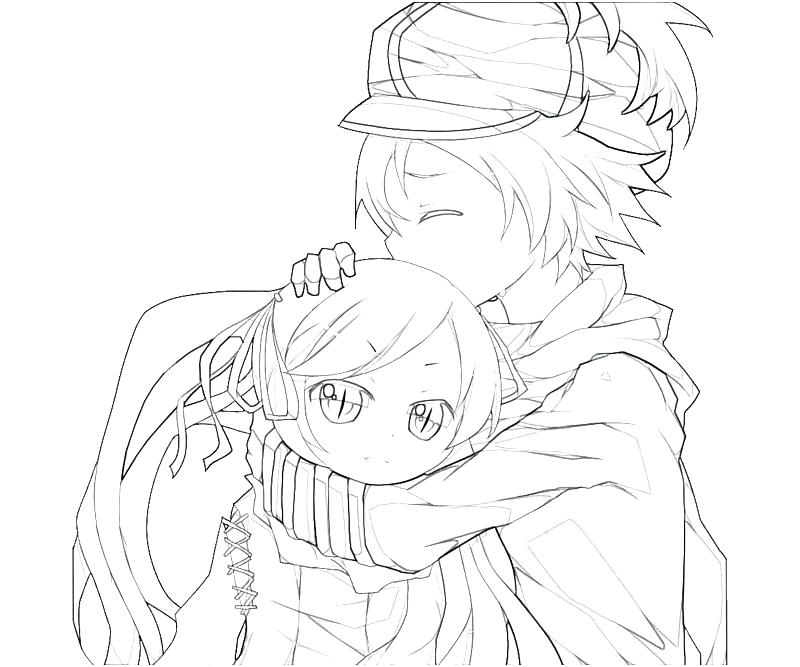800x667 The Boy Who Cried Wolf Coloring Pages Cute Anime Girl Drawing