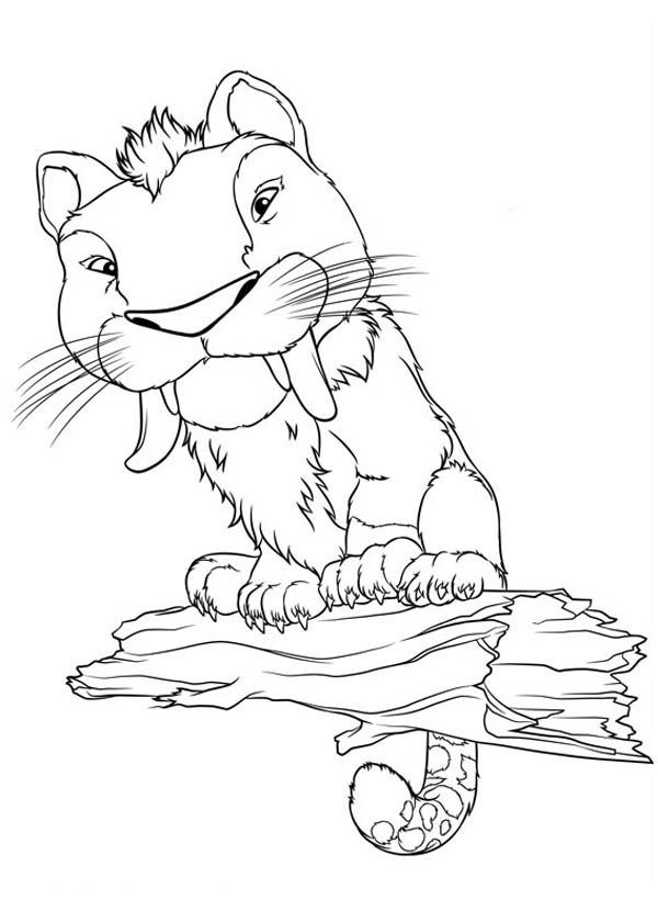 600x840 The Croods, Meet Macawnivore From The Croods Coloring Page