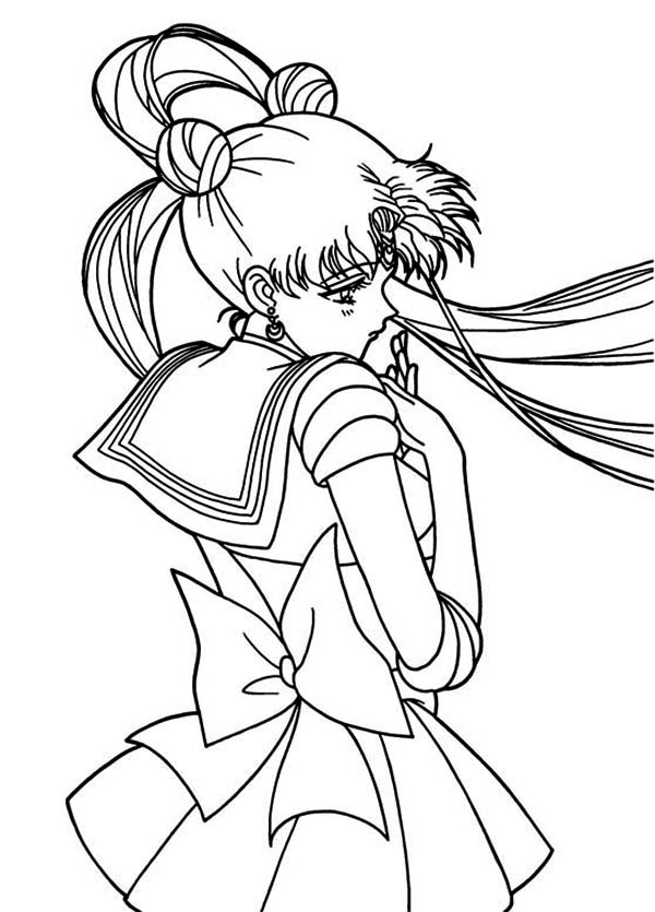 600x835 Sailor Moon Coloring Pages The Doll Palace