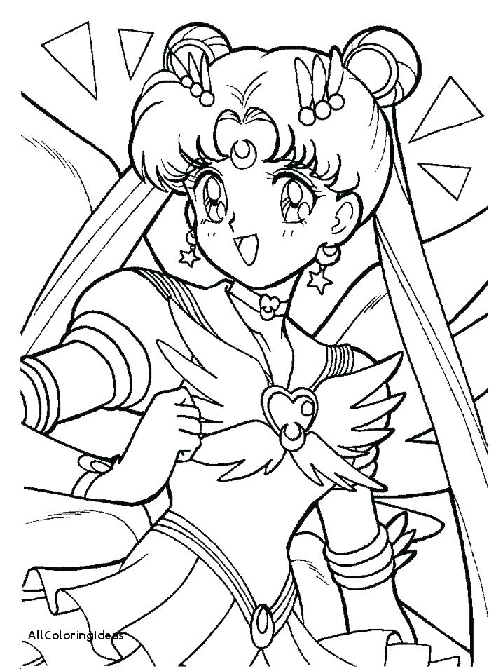 718x957 Sailor Moon Coloring Pages The Doll Palace