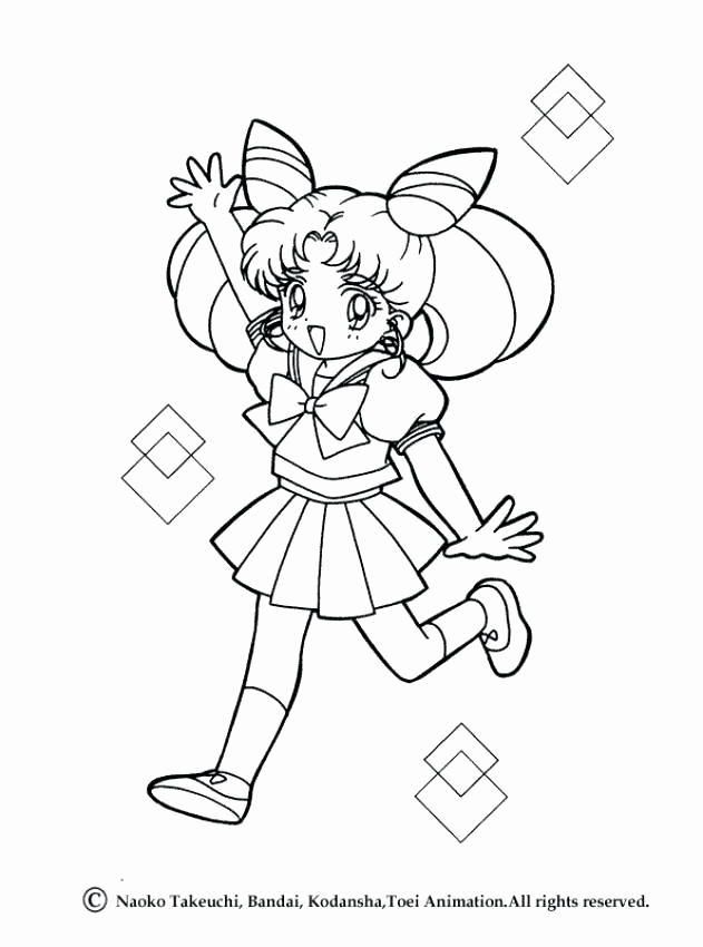 631x850 Sailor Moon Coloring Pages The Doll Palace Collection Printable