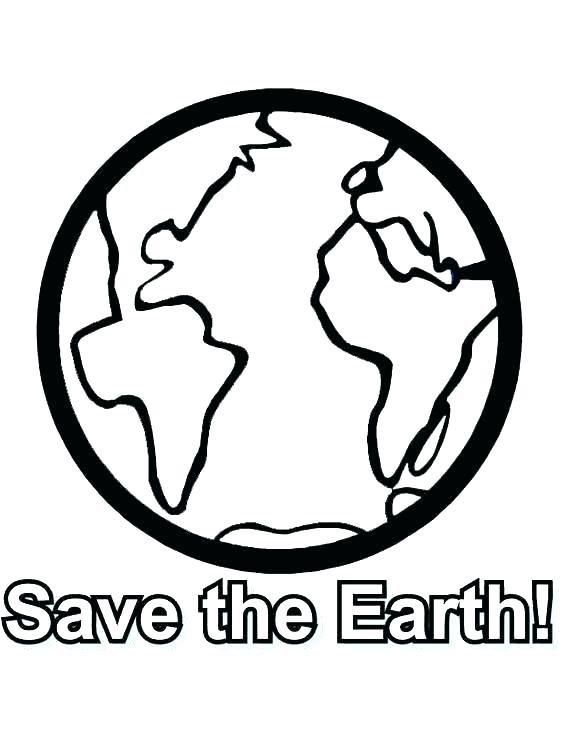 564x751 Earth Coloring Page Earth Coloring Sheet Earth Coloring Pages