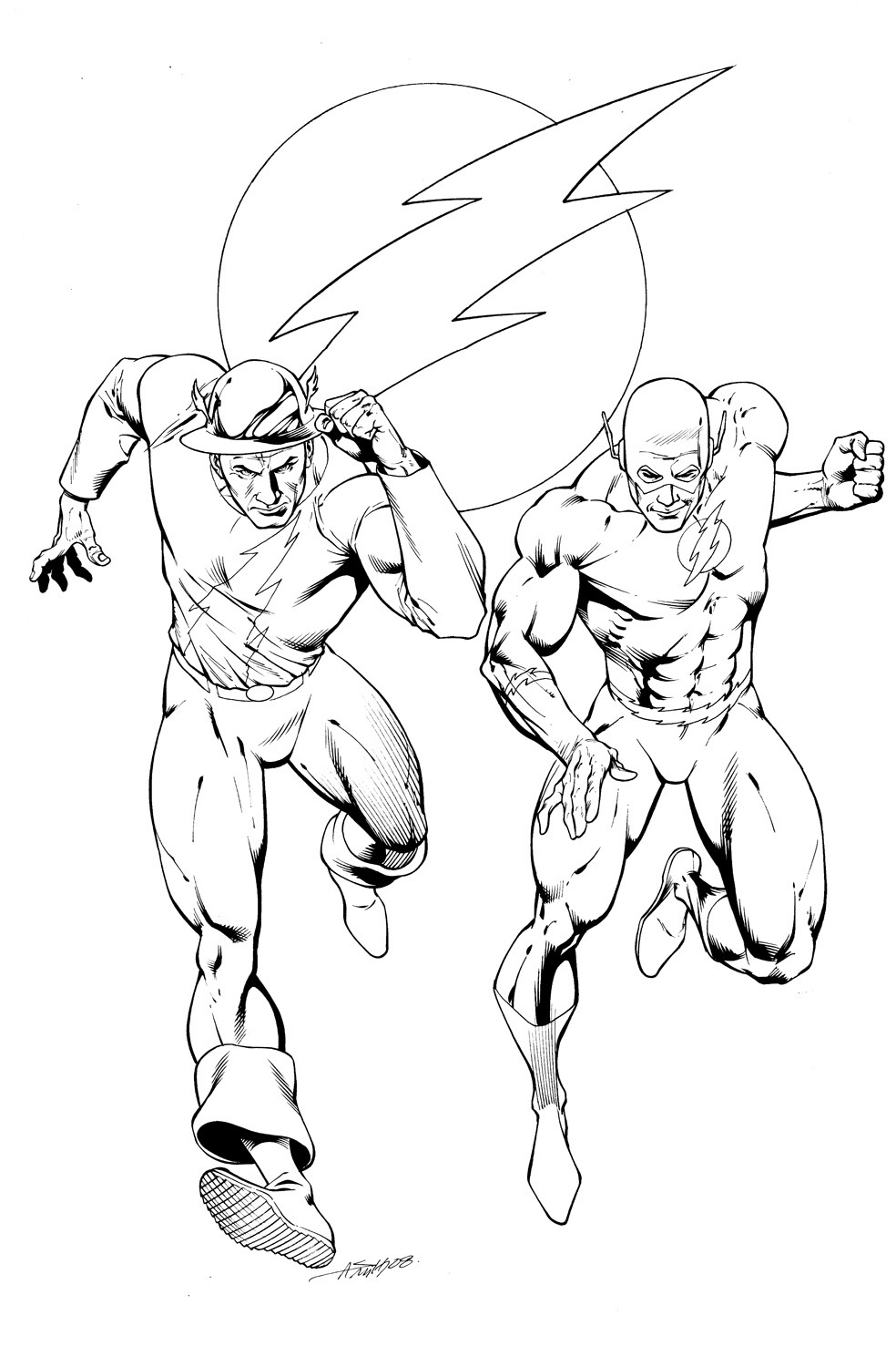 the flash coloring pages free printable at getdrawings