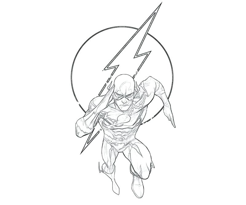 800x667 The Flash Coloring Pages Printable Coloring Image The Flash