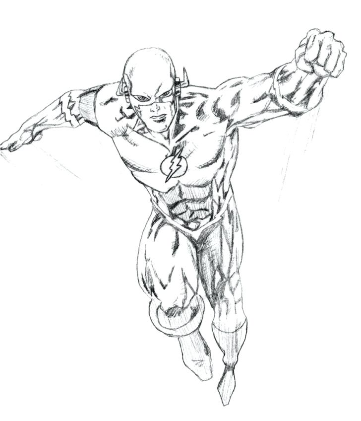 728x848 The Flash Coloring Pages Superhero Symbols Coloring Pages Flash