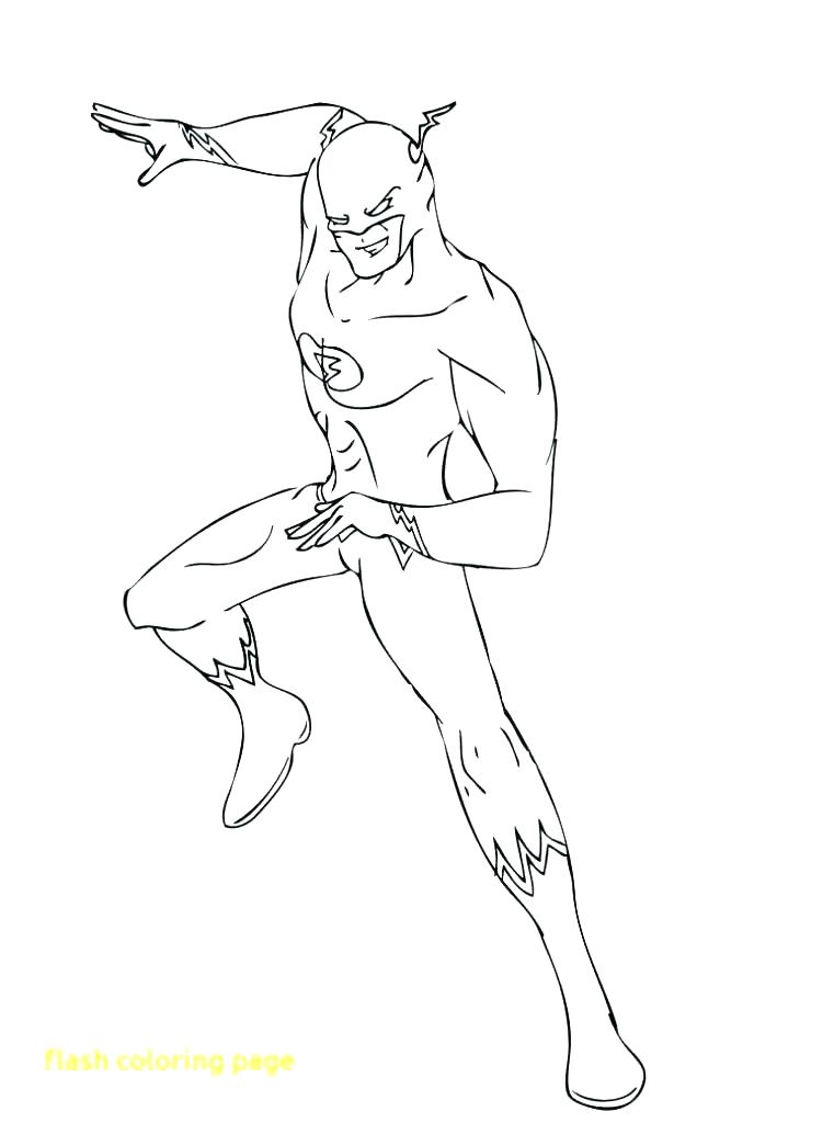 761x1024 Flash Superhero Coloring Pages Free Icontent