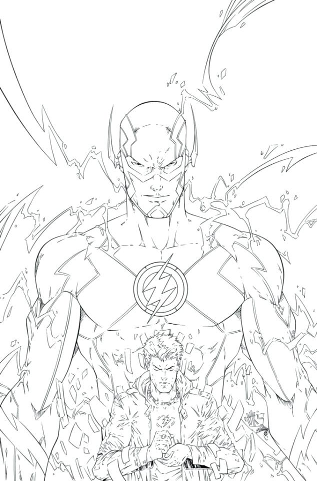 634x960 Flash Coloring Page Flash Coloring Pages Pictures Free Printable