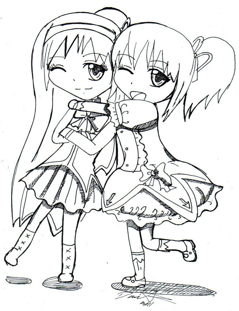 783x1021 Best Friend Coloring Pages For Teenage Girls Colorings