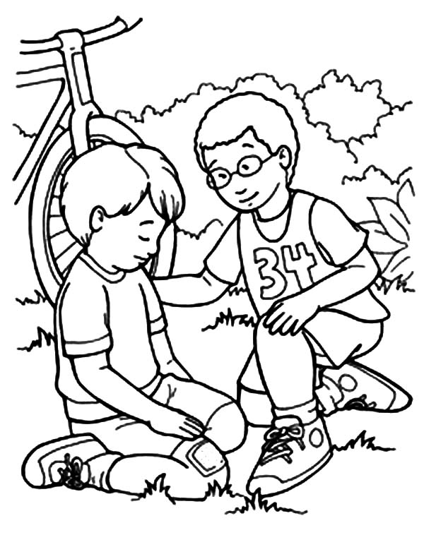 600x775 I Can Be Friend Coloring Page Kindness Coloring Pages I Can Be