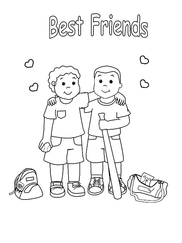 600x799 Best Friend Coloring Pages Best Of Friendship Coloring Pages Best