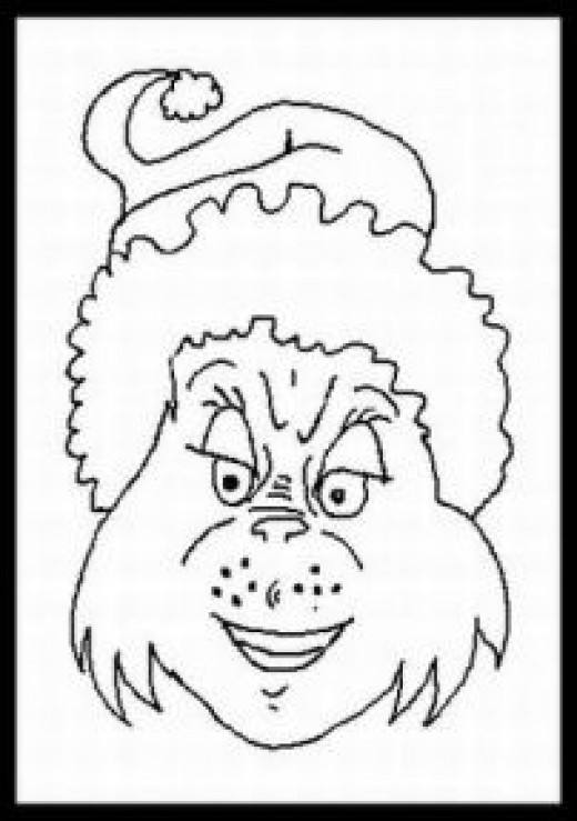 The Grinch Christmas Coloring Pages At Getdrawings Com Free For