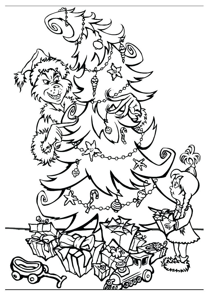 730x1024 How The Grinch Stole Christmas Coloring Pages Free Coloring Pages