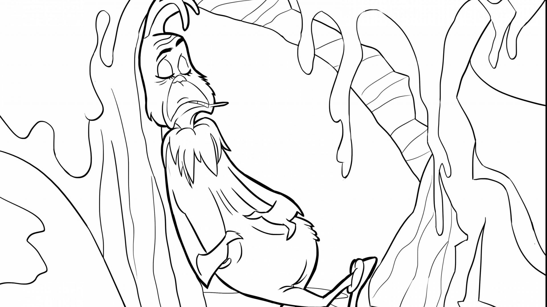 1920x1080 The Grinch Coloring Images Of General Pictures Who Stole Christmas