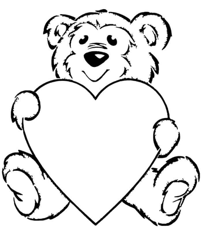 700x801 Free Printable Heart Coloring Pages