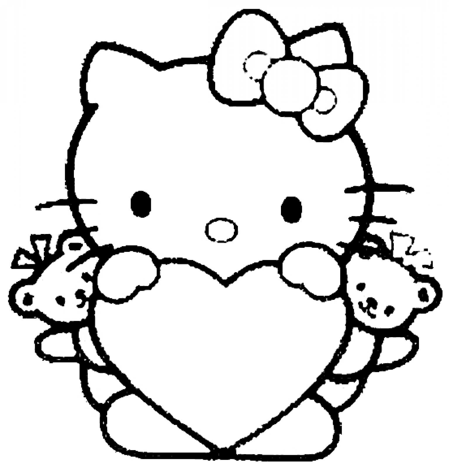 1536x1600 Heart Coloring Pages To Print Out