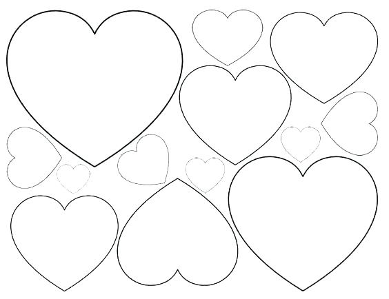 564x434 Coloring Pages Heart Coloring Pages Heart Shape Heart Shape