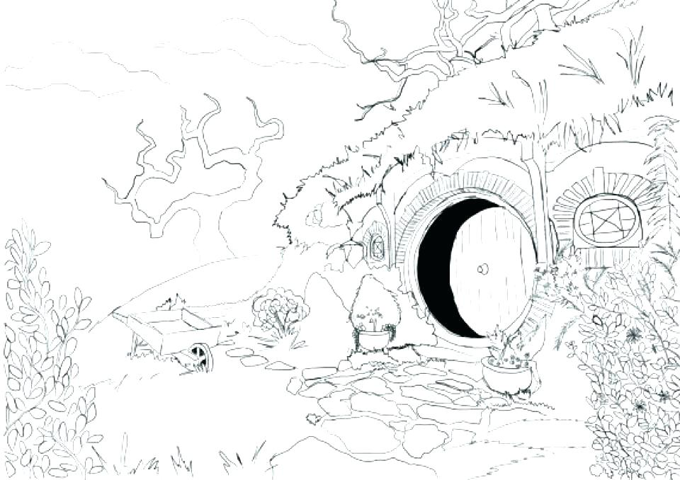 960x678 The Hobbit Coloring Pages The Hobbit Coloring Pages The Hobbit