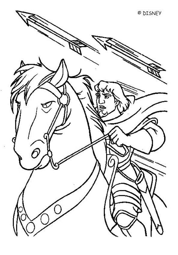 593x850 The Hunchback Of Notre Dame Coloring Pages