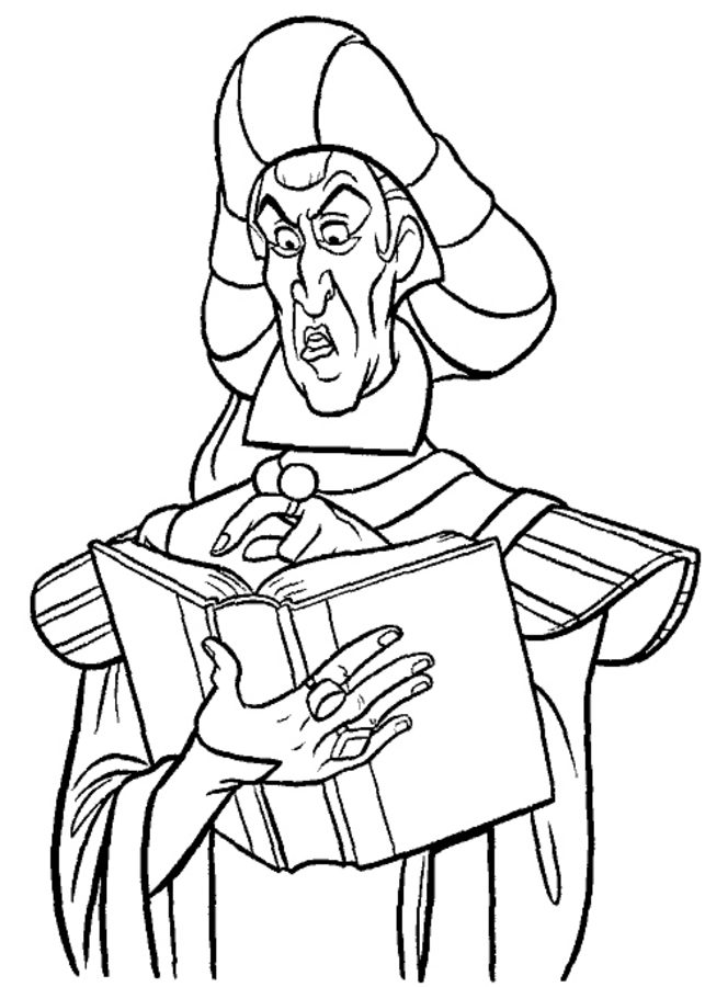 643x900 Coloring Pages The Hunchback Of Notre Dame, Printable For Kids