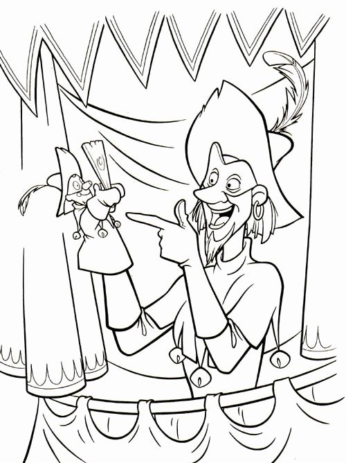 500x668 Top Hunchback Of Notre Dame Coloring Pages