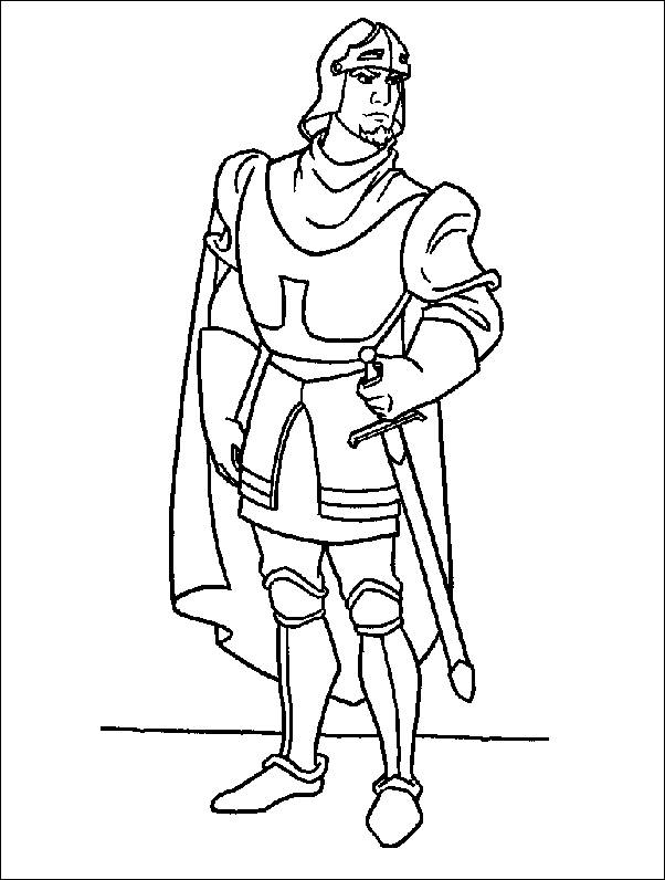 602x796 Coloring Pages The Hunchback Of Notre Dame