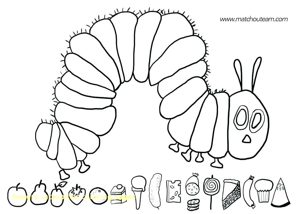 960x695 Hungry Caterpillar Coloring Page Hungry Caterpillar Coloring Page