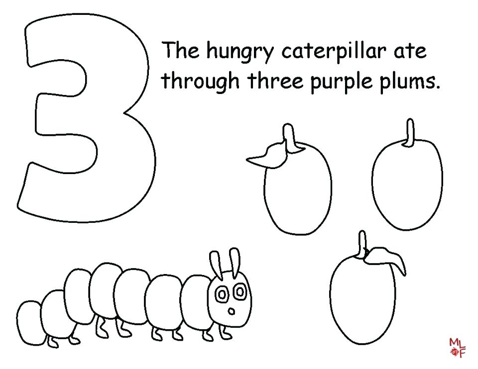 960x742 The Very Hungry Caterpillar Coloring Pages The Very Hungry