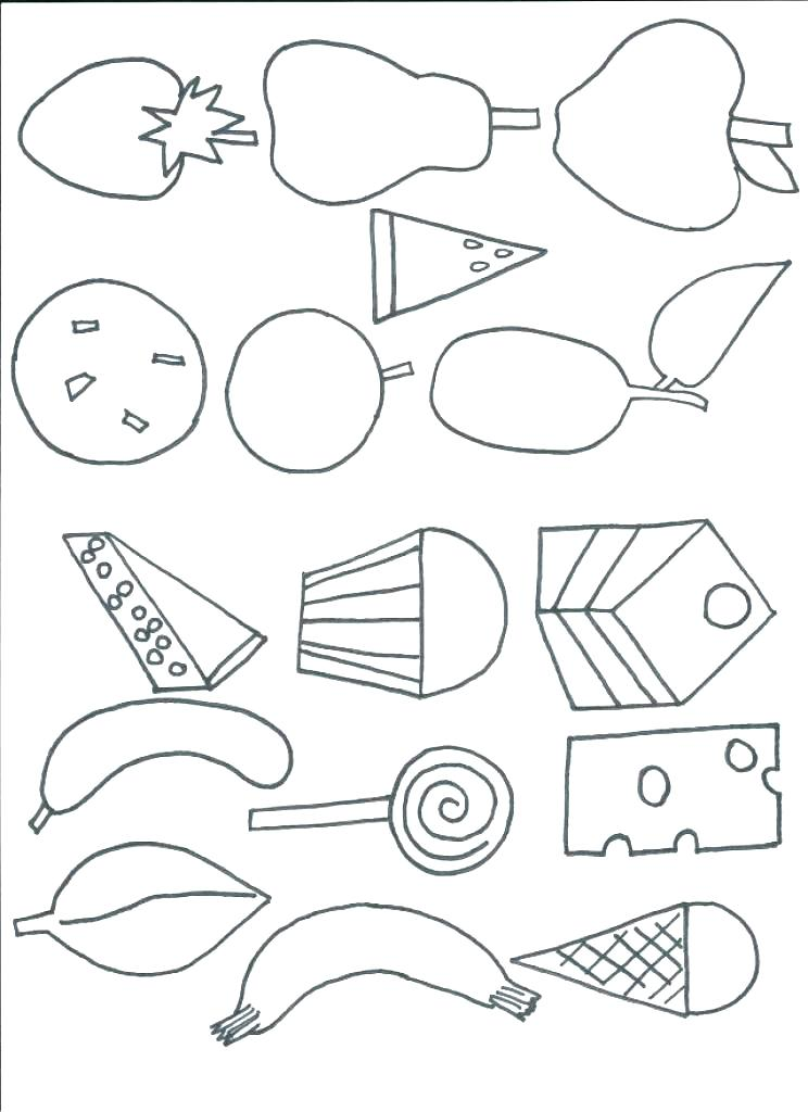 744x1024 Very Hungry Caterpillar Coloring Pages Caterpillar Coloring Pages