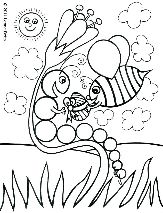 632x825 Very Hungry Caterpillar Coloring Pages Hungry Caterpillar Coloring