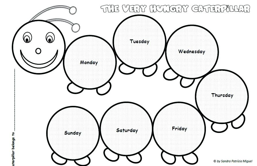 895x577 Very Hungry Caterpillar Coloring Pages Very Hungry Caterpillar