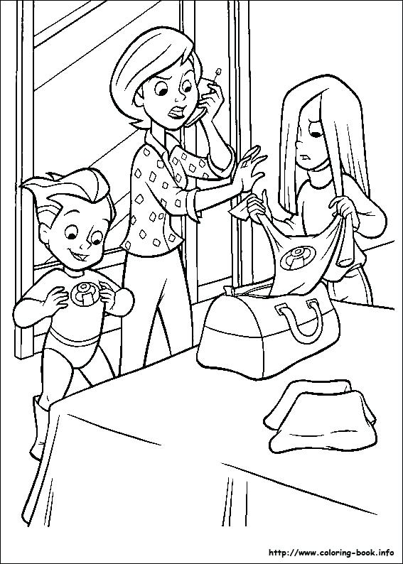 567x794 The Incredibles Coloring Pages Incredible Coloring Pages Ideas