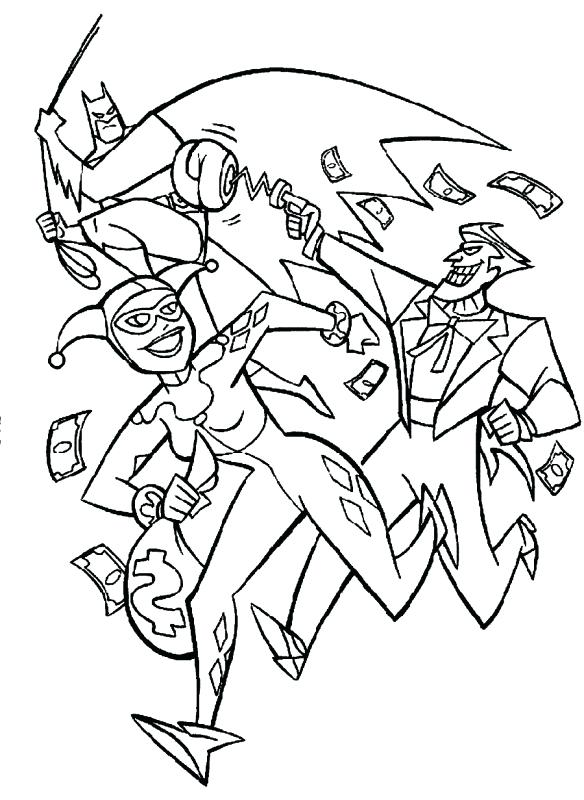 The Joker Coloring Pages