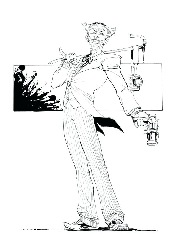 600x799 Joker Coloring Pages Why So Serious Joker Coloring Page Joker