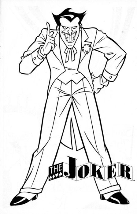 448x700 Seasonal Colouring Pages The Joker Coloring Pages New