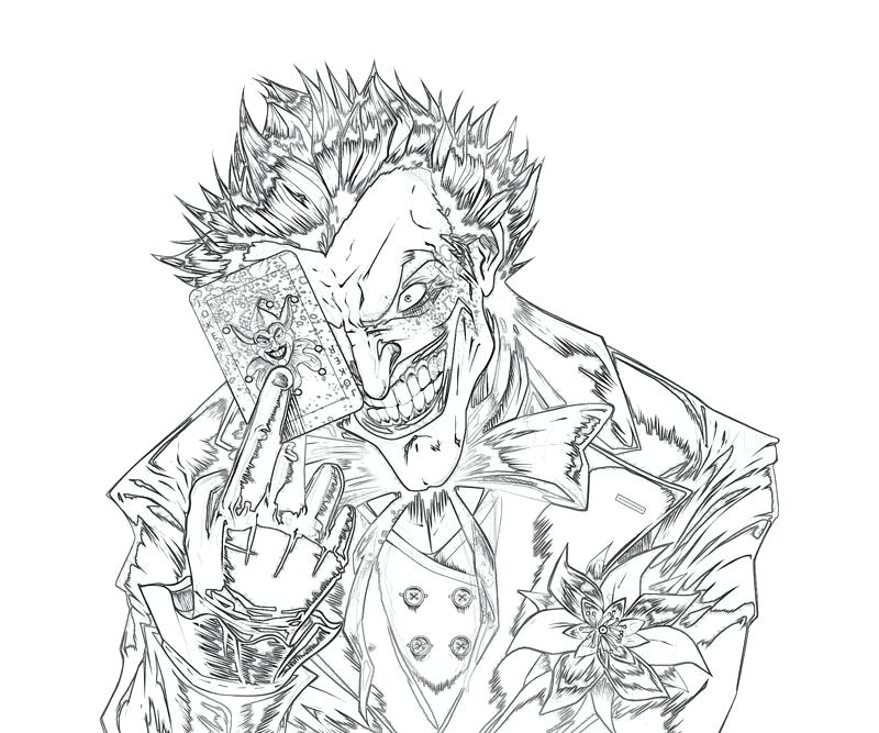 800x667 Here Are Joker Coloring Pages Pictures Free Of The For Remodel