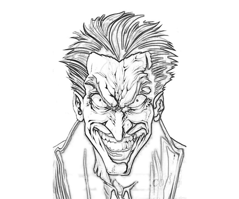 800x667 Joker Coloring Pages