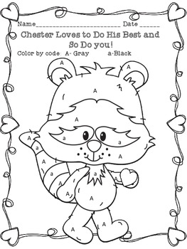 263x350 The Kissing Hand Chester Raccoon Coloring Page