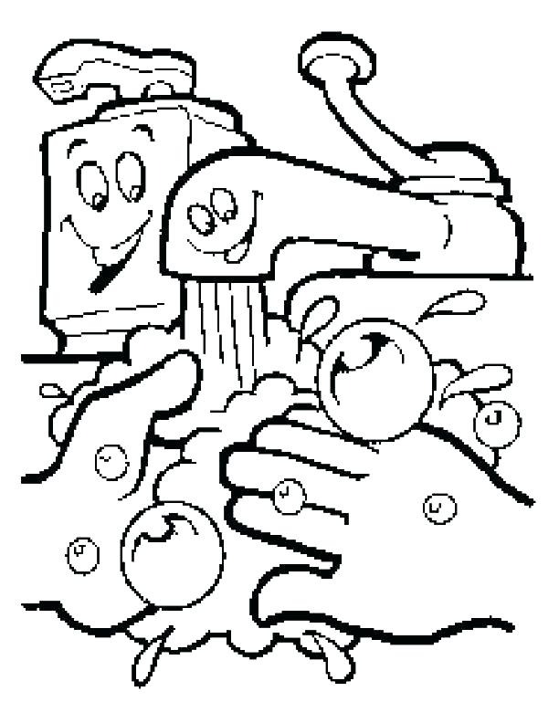 612x792 The Kissing Hand Coloring Pages