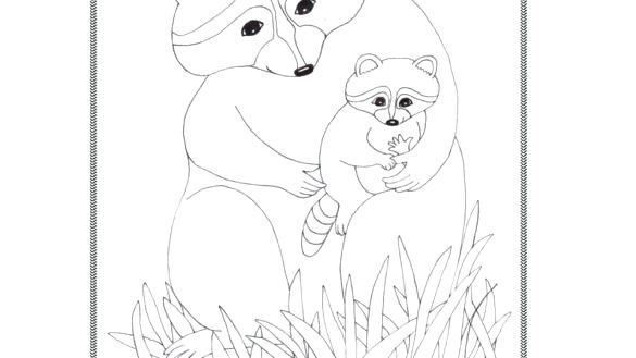 585x329 Kissing Hand Coloring Pages Kissing Hand Coloring Pages E
