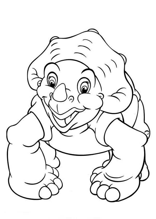 600x840 Land Before Time Family Cera Want To Play Coloring Page