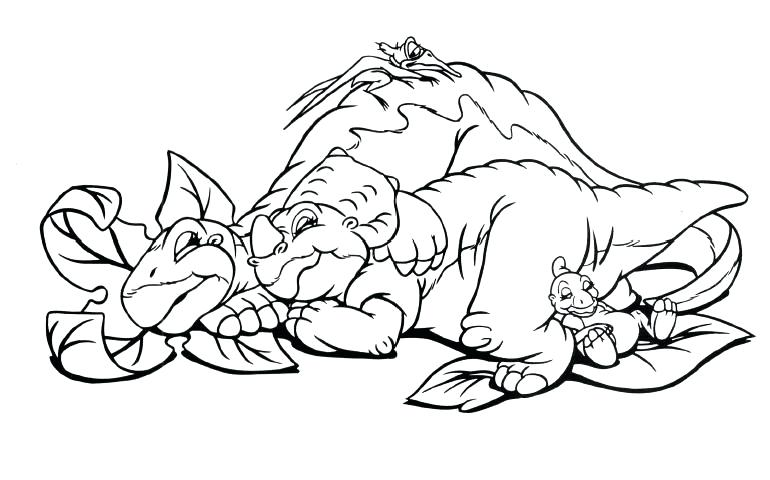 770x480 The Land Before Time Coloring Pages The Land Before Time Coloring