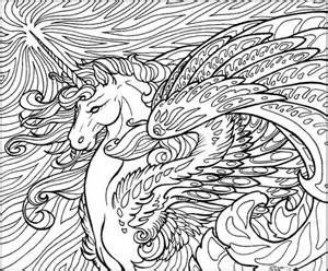 300x248 The Last Unicorn Coloring Pages
