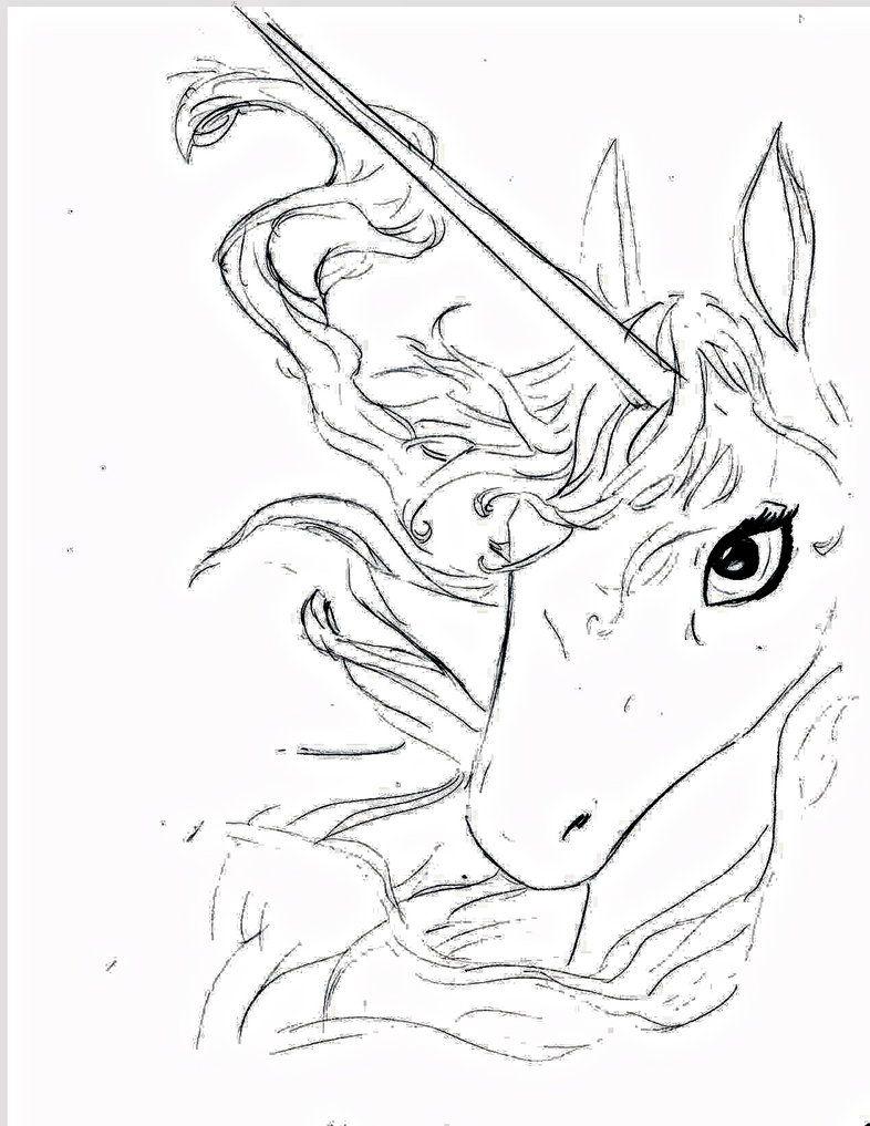 786x1017 The Last Unicorn Red Bull Tattoo The Last Unicorn