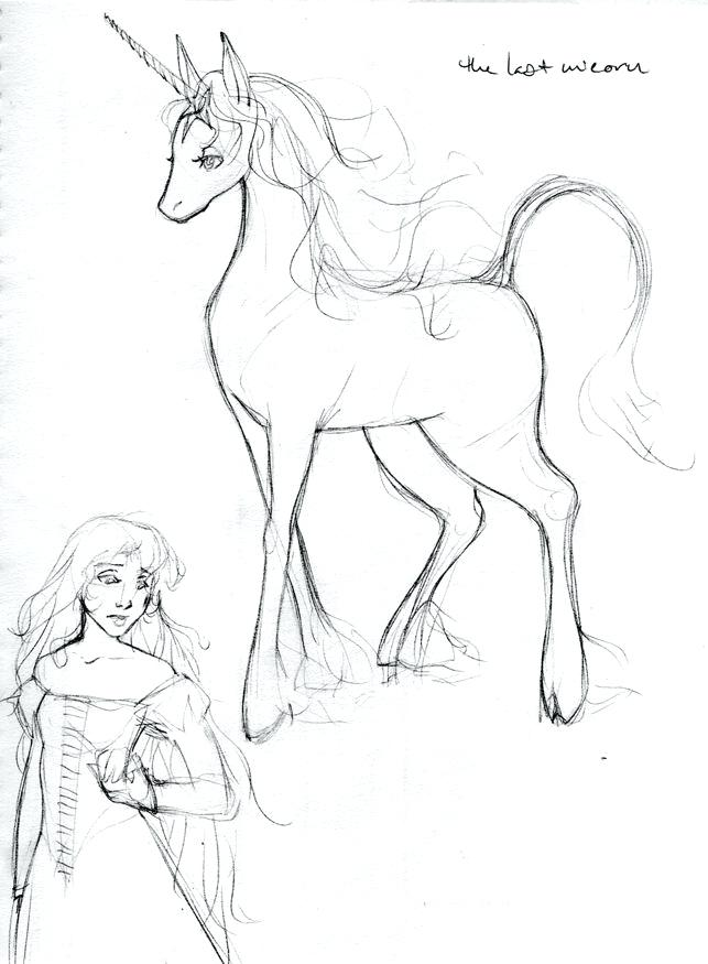 643x875 Unicorn Or Image Result For Unicorn Coloring Pages A The Last