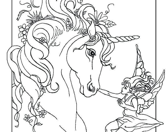 680x540 The Last Unicorn Coloring Pages