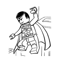 230x230 Wonderful Lego Movie Coloring Pages For Toddlers