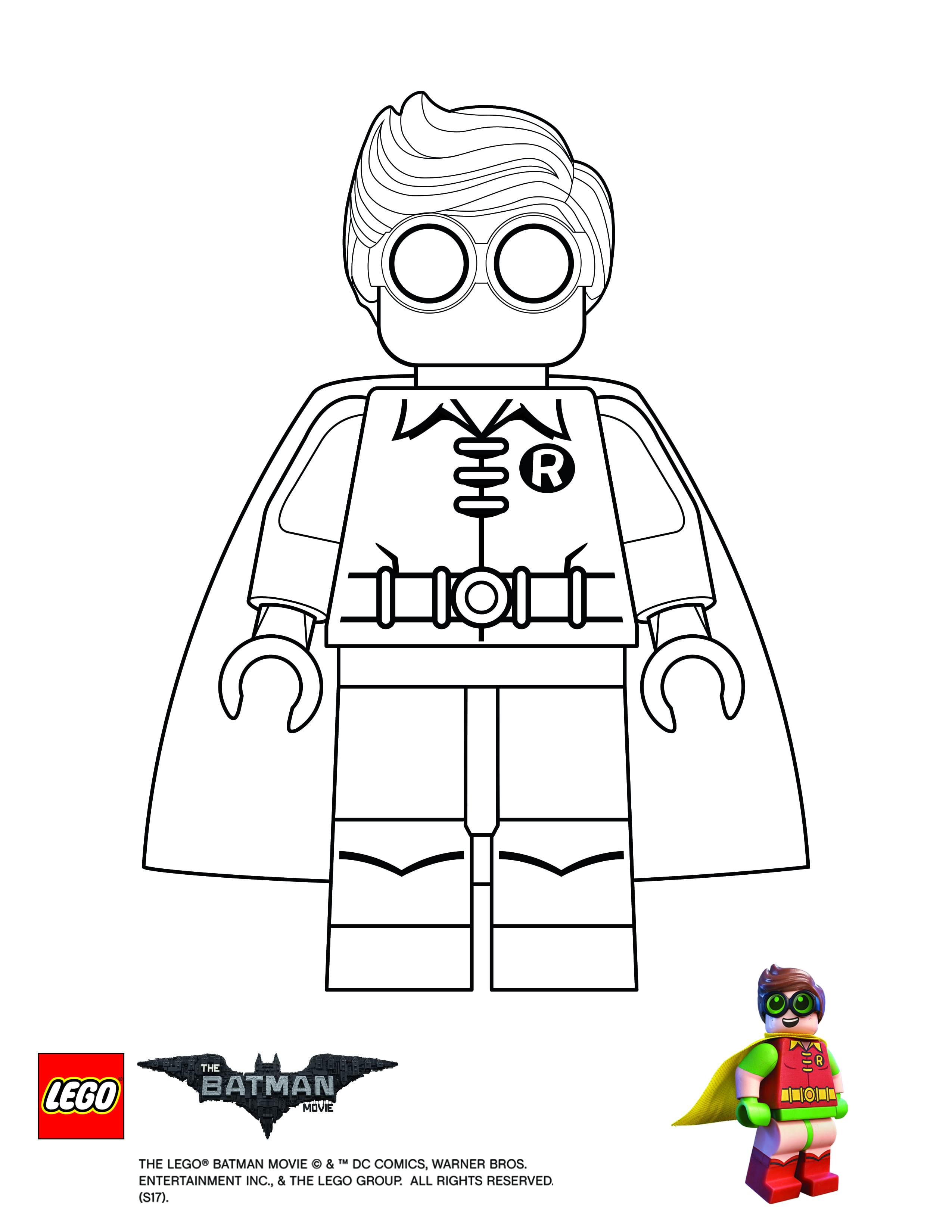 2550x3300 Lego Movie Coloring Pages Download