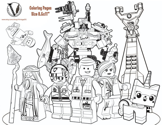 570x440 Lego Movie Coloring Pages Pdf Best Of Printable Batman